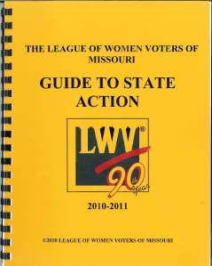 2010-2011 Guide to State Action cover