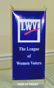 photo of mini-banner (front)